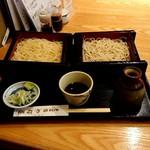 やぶ善 - 絶品中華麺とそばの合わせ。