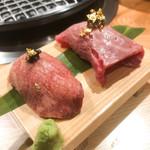 107446207 - 肉寿司・牛タン寿司