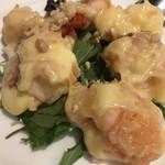 ザ トウキョウフェニックス バイ ホウメイシュン - 大海老のマヨネーズ風味3000円。どうしても大海老が食べたかったので、お仕事仲間に無理を言ってシェアしました。食べ応えありました(^。^)