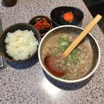 焼肉のんき - 肉吸いランチ  ¥750