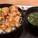 カルビ丼とスン豆腐専門店 韓丼  - 上てっちゃん丼