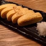 魚武 - 冨田鶏卵とみたま使用出汁巻卵