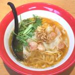 麺匠 喜楽々 - 料理写真:えびワンタン麺