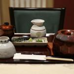 ひすい焼きステーキ八傳 - さぁ頂きます☆