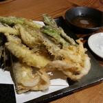 完全個室 喰の眞方  - 季節の天ぷら盛り合わせ