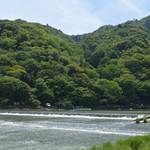 嵐山よしむら - 桂川