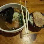 raxamenkinoko - 料理写真:鶏油&白ごはん