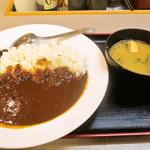 松屋 - オリジナルカレー並 味噌汁