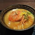 金澤味噌ラーメン 神仙 - 金澤味噌ラーメン(850円)