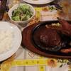 ばーるここぺり  - 料理写真:ハンバーグ&エビフライセット