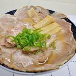 手打中華そば 浦島 - 料理写真:チャーシュー麺