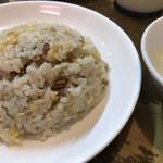 宝楽 - 定食の半チャーハン
