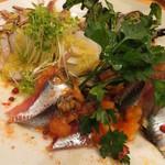 キッチンスズヤ - 鮮魚3種のカルパッチョ