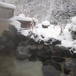 建治旅館 - 雪景色を眺める