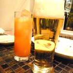 ALEGRIA - 中盤にきて、生&カンパリオレンジ(笑)