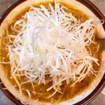 青木家 - 料理写真:札幌味噌ネギらーめん 980円