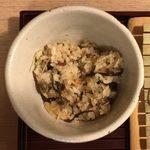 手打ち蕎麦 たむら - 炊き込みご飯 無料