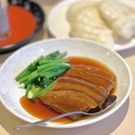 江山楼 - 江山楼の東坡肉(1,200円)