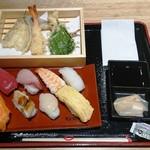 スシローコノミ - 並盛8貫+天ぷらセット
