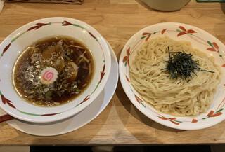 らーめん天神下 大喜 - つけ麺 醤油 太麺(850円) 2019.5