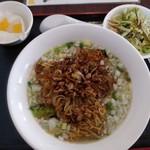 Kantonryouriajisaikan - ひき肉焼きラーメン(塩味)