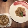 ギオン ダック ヌードルズ - 料理写真:つけ麺(ベリー、ロース)並 980円