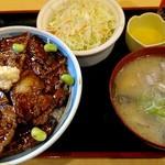 107476144 - ばら豚丼ランチ 850円