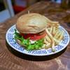 ラコスバーガー - 料理写真:■ラコスバーガーセット 850円