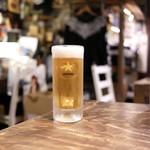 ラコスバーガー - ■生ビール 500円