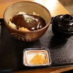 カツ丼 野村 - ■ドミグラスソースカツ丼 並盛り ロース 800円