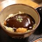 107477511 - ■ドミグラスソースカツ丼 並盛り ロース 800円