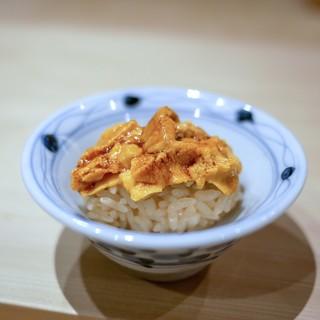 鮨 縁 - 料理写真:☆淡路の雲丹