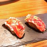 107479041 - サーロイン肉寿司