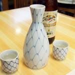 魚河岸寿司 - おまかせの松(6000円・外税)の日本盛り