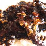トレインレストラン日本食堂 - ハヤシライスアップ! これは!ヤバイくらいに美味い! ソースが濃厚〜(´∀`*)