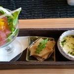 創季 - 料理写真:彩ランチ 前菜