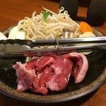 107482645 - お肉と野菜です