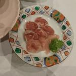 夕亭 - 料理写真:「ホロホロ鳥のすき焼き」