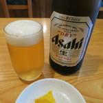 107492474 - 瓶ビール(アサヒスーパードライ)