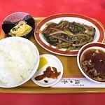 本場長崎チャンポン 福々亭 - なす麻婆定食
