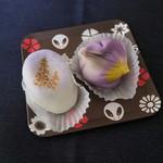 菓子工房 みやこ - 料理写真:「藤」と「菖蒲」