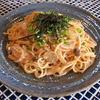 タビ カフェ - 料理写真:『明太子クリームきのこパスタ』 意外といけますTABICAFEのパスタ!