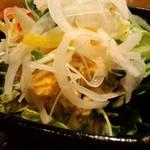 10750938 - 豆腐サラダ コースのサラダ