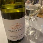 プチホテル コリンシアン - 夕食の時頼んだワイン