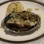 プチホテル コリンシアン - アワビのステーキ