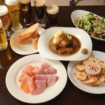 ビール&ワインダイニング ラ・クラス - ビアホールコース5000円