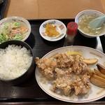 107504270 - 鶏のカラアゲ定食
