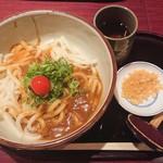 四ツ谷胡桃屋 - カレー南蛮うどん並¥790-