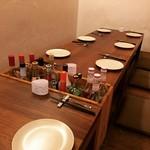 旬素材dining近咲暮 - 内観写真: