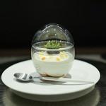 レストラン ラ・フロレゾン・ドゥ・タケウチ - L'AMUSE-BOUCHE 本日のお口取り☆